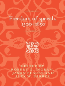 Freedom of speech, 1500–1850