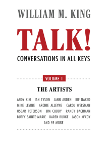 Talk! Conversations in All Keys