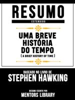 Resumo Estendido: Uma Breve História Do Tempo (A Brief History Of Time) - Baseado No Livro De Stephen Hawking