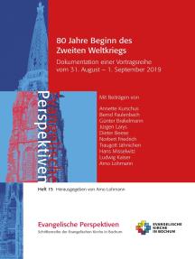 80 Jahre Beginn des Zweiten Weltkriegs: Dokumentation einer Vortragsreihe der Ev. Stadtakademie Bochum