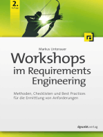 Workshops im Requirements Engineering: Methoden, Checklisten und Best Practices für die Ermittlung von Anforderungen
