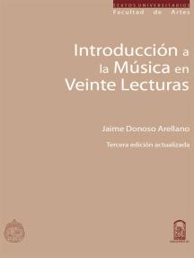 Introducción a la música en veinte lecturas