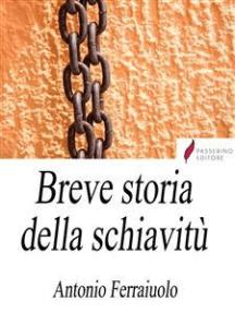 Breve storia della schiavitù