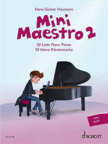 Mini Maestro 2: 50 Little Piano Pieces