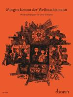 Morgen kommt der Weihnachtsmann: Weihnachtslieder für zwei Violinen