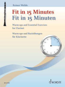 Fit in 15 Minutes: Warm-ups and Essential Exercises for Clarinet