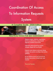 Coordination Of Access To Information Requests System A Complete Guide - 2020 Edition