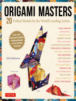 Origami Masters Ebook: 20 Folded Models by the World's Leading Artists (Includes Step-By-Step Online Tutorials)