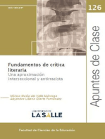 Fundamentos de crítica literaria: Una aproximación interseccional y antirracista