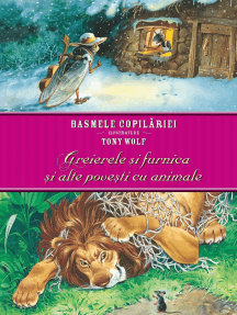 Basmele copilăriei ilustrate de Tony Wolf - Greierele și furnica și alte povești cu animale