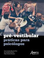 Pré-Vestibular: Práticas para Psicólogos