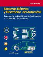 Sistemas eléctrico y electrónico del automóvil.