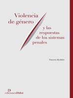 Violencia de género y las respuestas de los sistemas penales