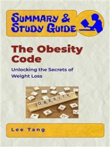 Summary & Study Guide - The Obesity Code: Unlocking the Secrets of Weight Loss