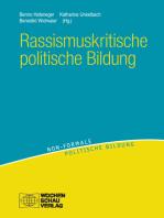 Rassismuskritische politische Bildung: Theorien - Konzepte - Orientierungen