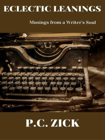 Eclectic Leanings - Musings from a Writer's Soul