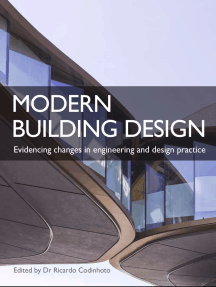Modern Building Design: Evidencing changes in engineering and design practice