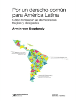 Por un derecho común para América Latina: Cómo fortalecer las democracias frágiles y desiguales