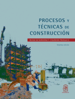 Procesos y técnicas de construcción: Septima edición