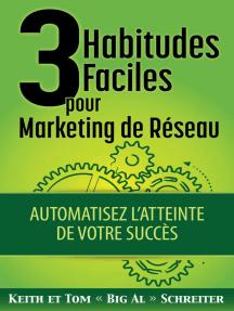 3 Habitudes Faciles pour Marketing de Réseau : Automatisez L'atteinte de Votre Succès