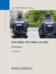 PolG NRW, POG NRW und OBG: Textausgabe