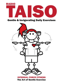 Radio Taiso: Gentle & Invigorating Daily Exercises: Radio Taiso, #1