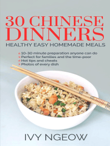 30 Chinese Dinners