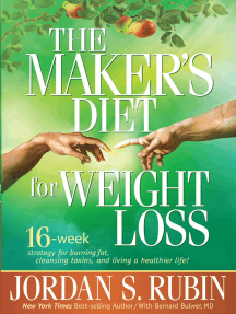 The Maker's Diet For Weight Loss: 16-week strategy for burning fat, cleansing toxins, and living a healthier life!