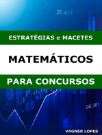Estratégias E Macetes Matemáticos Para Concurseiros