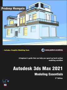 Autodesk 3ds Max 2021: Modeling Essentials, 3rd Edition