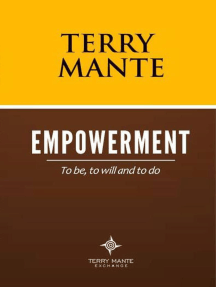 Empowerment: To Be, To Will And To Do