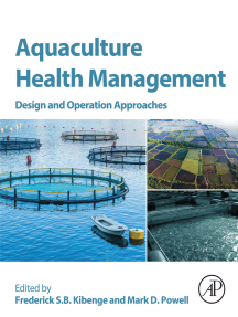 Aquaculture Health Management: Design and Operation Approaches