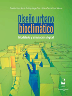 Diseño urbano bioclimático: Modelado y simulación digital