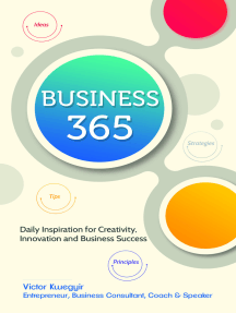 Business 365: Daily Inspiration for Creativity, Innovation and Business Success