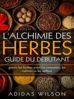 L'alchimie des herbes: Guide du débutant