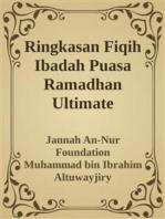 Ringkasan Fiqih Ibadah Puasa Ramadhan Ultimate