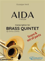 Aida (prelude) Brass Quintet - Score & Parts