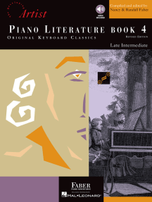 Piano Literature - Book 4: Developing Artist Original Keyboard Classics