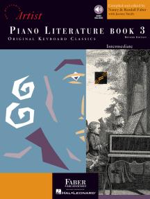 Piano Literature - Book 3: Revised Edition: Developing Artist Original Keyboard Classics Intermediate Level