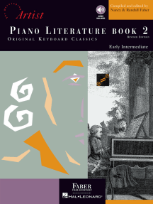 Piano Literature - Book 2: Developing Artist Original Keyboard Classics