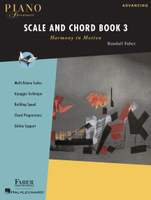 Piano Adventures Scale and Chord Book 3: Harmony in Motion