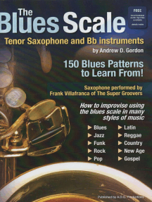 The Blues Scale for Tenor Sax and Bb instruments: The Blues Scale