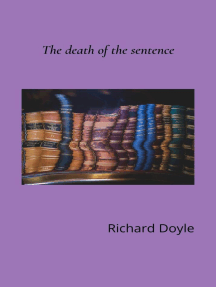 The Death of the Sentence