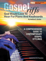 Gospel Riffs God Would Love To Hear for Piano/Keyboards