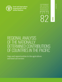 Regional Analysis of the Nationally Determined Contributions in the Pacific: Gaps and Opportunities in the Agriculture and Land Use Sectors