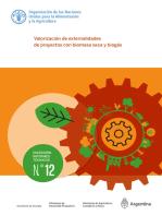 Valorización de externalidades de proyectos con biomasa seca y biogás