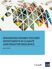 Enhancing Women-Focused Investments in Climate and Disaster Resilience