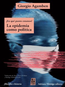 ¿En qué punto estamos?: La epidemia como política