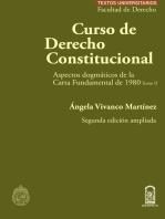 Curso de Derecho Constitucional - Tomo II: Aspectos dogmáticos de la Carta Fundamental de 1980