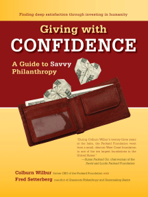 Giving with Confidence: A Guide to Savvy Philanthropy